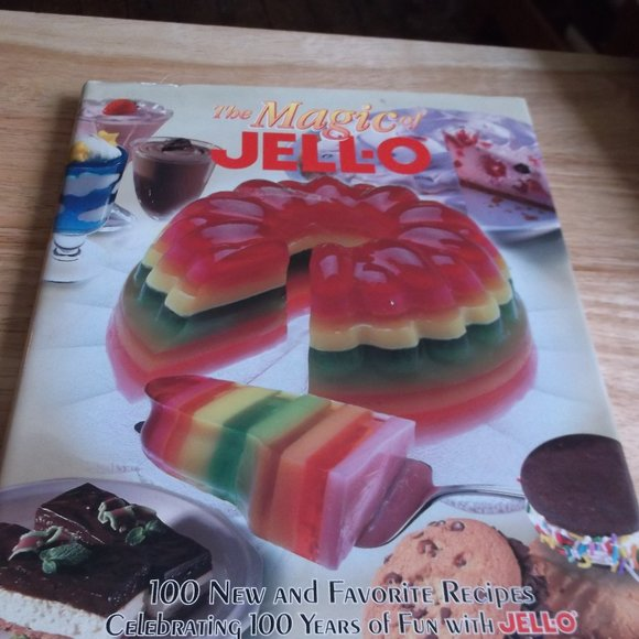 magic jello recipe book 100 favorites